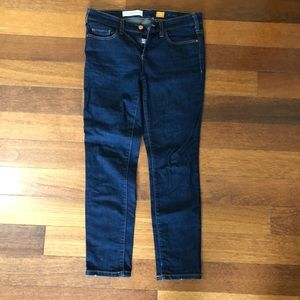 Anthropologie Pilcro Serif Dark Wash Jeans 28